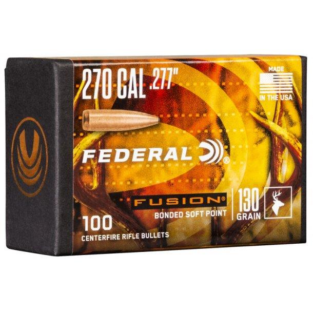 Federal - Fusion  - .277 - 130grain - 100 stk.