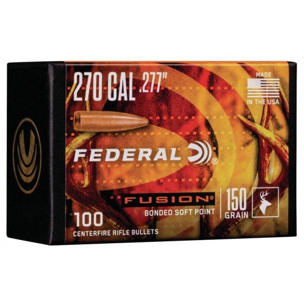 Federal - Fusion  - .277 - 150grain - 100 stk.