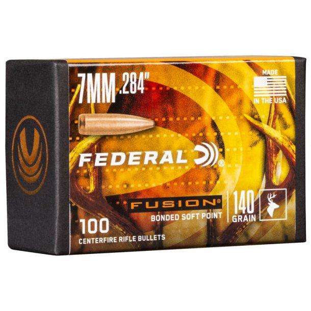 Federal - Fusion  - .284 - 140grain - 100 stk.