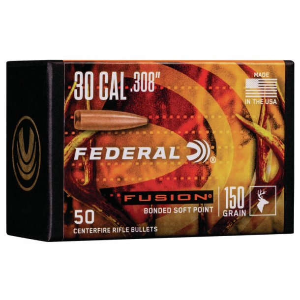 Federal - Fusion  - .308 - 150grain - 50 stk.