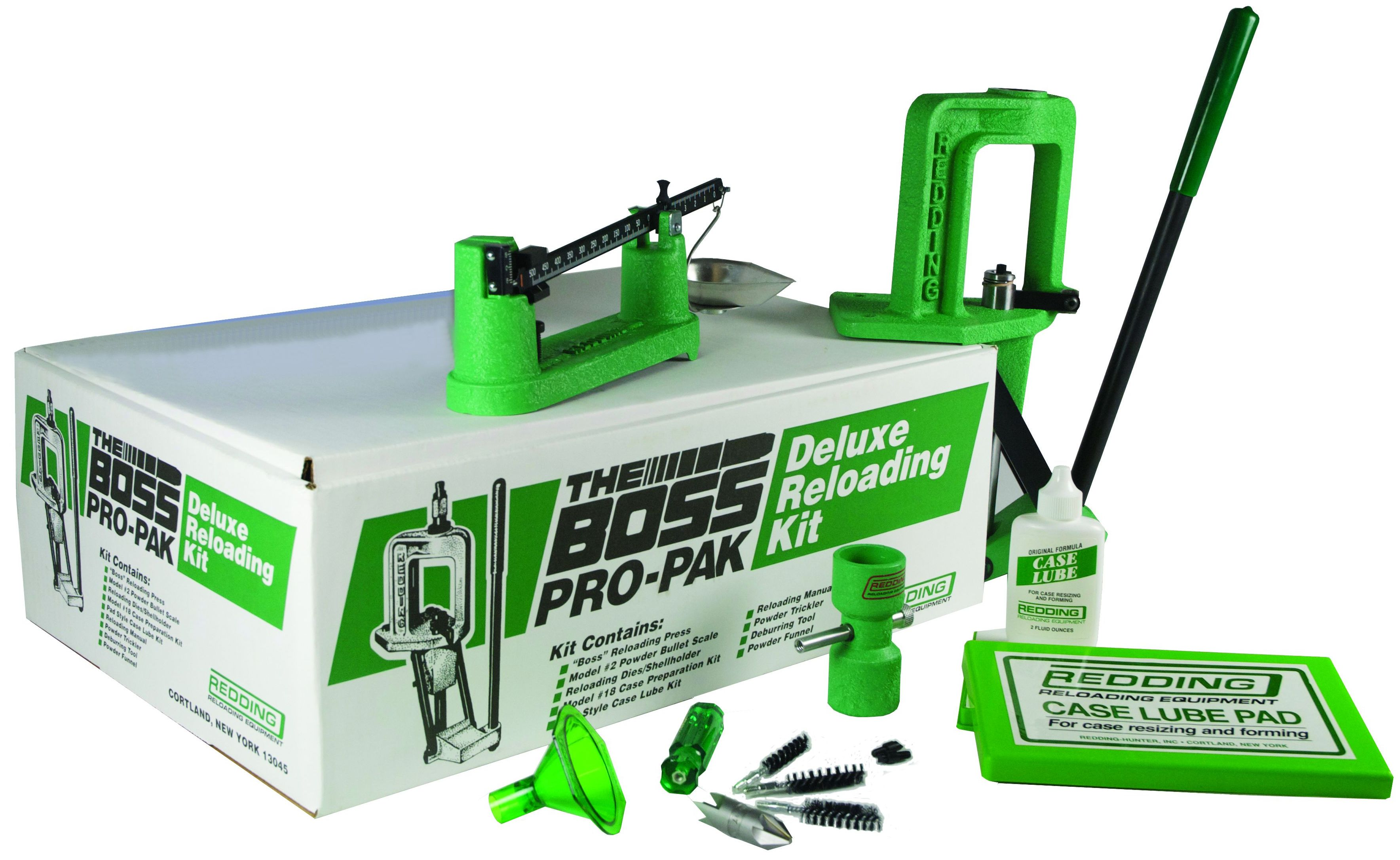 Redding Boss Pro-Pak Single Stage Reloading Press Kit